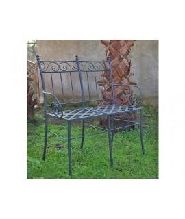 Iron bench Minerva