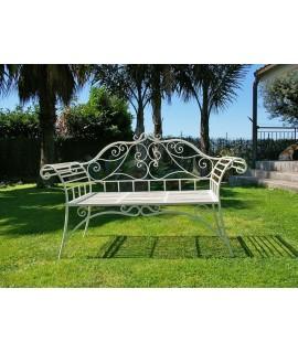 Iron 3 seater bench Romance