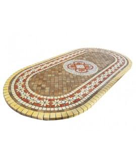 Piano da Tavolo in Mosaico  8034O