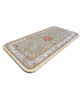 tavolo in mosaico il fauno