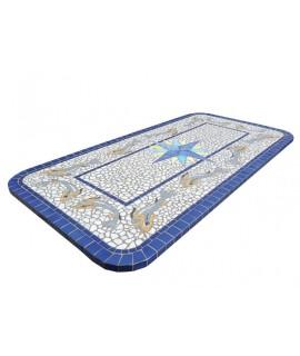 Piano da Tavolo in Mosaico 8049R