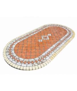 tavolo ovale per esterno