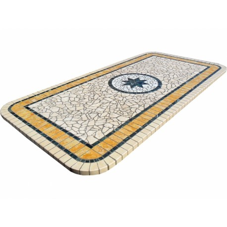Mosaic table top 8057R free line