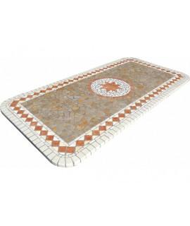 Piano da Tavolo in Mosaico 8061 free line