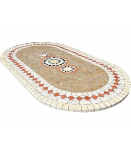 Mosaic table top 8064 free line