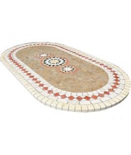 Piano da Tavolo in Mosaico 8064 free line