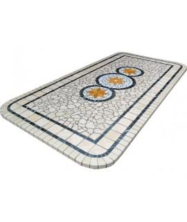 Piano da Tavolo in Mosaico 8065 free line