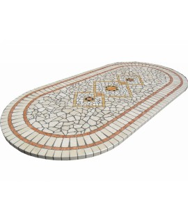 Mosaic table top 8067 free line