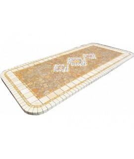 Piano da Tavolo in Mosaico 8068 free line