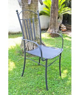 Iron chair Salerno