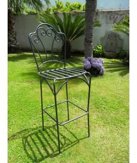 Iron chair Positano