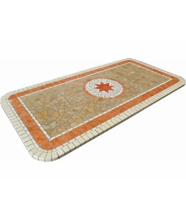 Mosaic table top 8058R free line