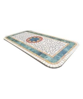 Piano da Tavolo in Mosaico 9000