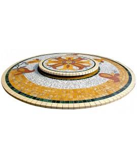 Piano da Tavolo in Mosaico 6012C
