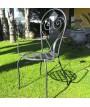 sedia in ferro battuto modello Athena