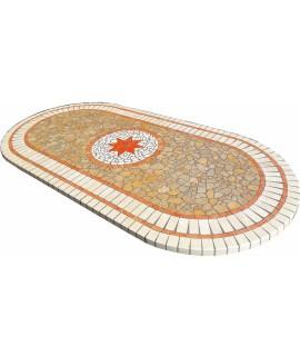 Piano da Tavolo in Mosaico 8056 free line