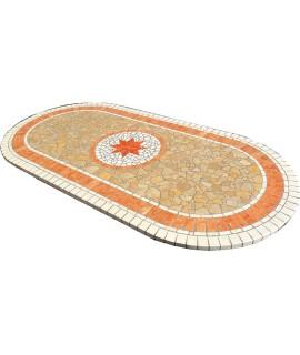 Piano da Tavolo in Mosaico 8058 free line