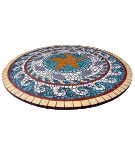 Piano da Tavolo in Mosaico 6004C