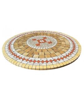 Piano da Tavolo in Mosaico 8040c free line