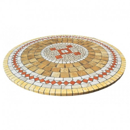 Mosaic table top 8040c free line