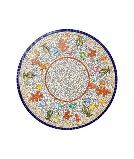 Piano da Tavolo in Mosaico 8007C